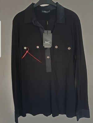 Shirtbluse aus Seidenjersey