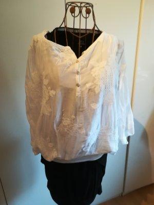 Collezione Slip-over Blouse white silk