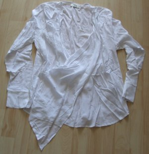 Cotton Candy Long Sleeve Blouse white viscose