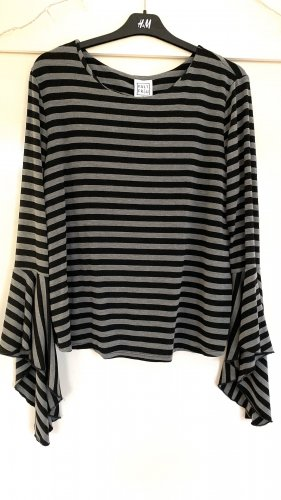 Blusa nero-grigio chiaro