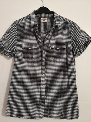 Levi's Bluzka z krótkim rękawem biały-czarny