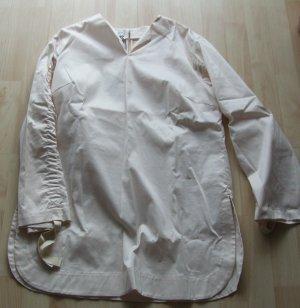 Shirtbluse von René Lezard  - nude - Gr. 40