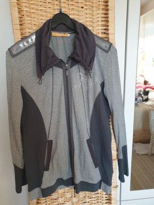 Biba Veste chemise gris-gris foncé