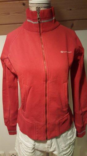 Champion Veste chemise rouge-argenté