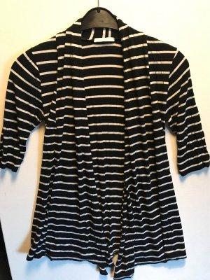 Giacca-camicia bianco-nero