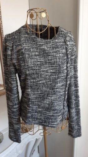 Only Chaqueta estilo camisa gris antracita