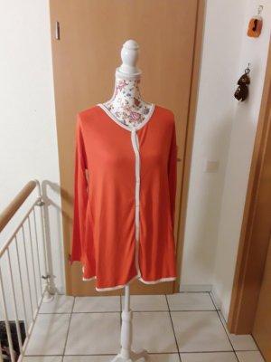 Maite kelly Bon Prix Veste chemise blanc-orange