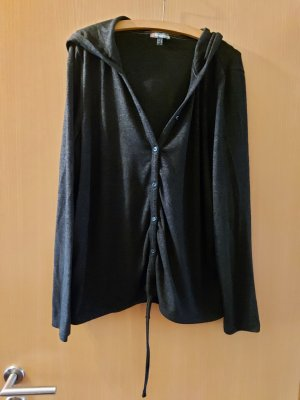 Street One Sweat Jacket black-dark grey