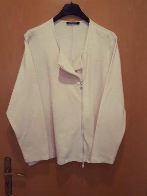 Betty Barclay Chaqueta estilo camisa crema Algodón