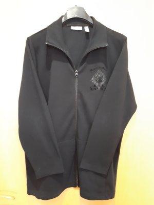 Jessica Chaqueta estilo camisa negro Algodón