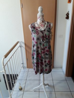 bpc bonprix collection Sukienka o kroju koszulki Wielokolorowy