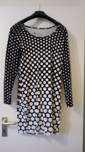 Shirt Dress white-black cotton
