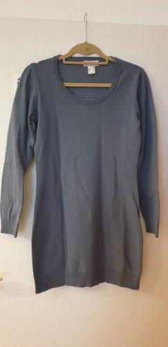 bpc bonprix collection Sukienka z dzianiny jasnoniebieski