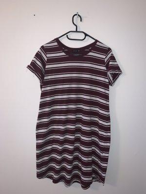 Cotton On Shirt Dress bordeaux-white polyester