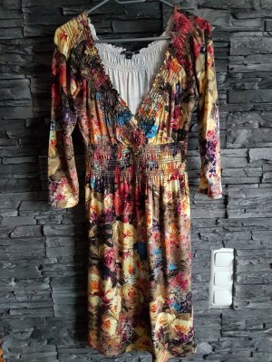 Comma Shirt Dress multicolored