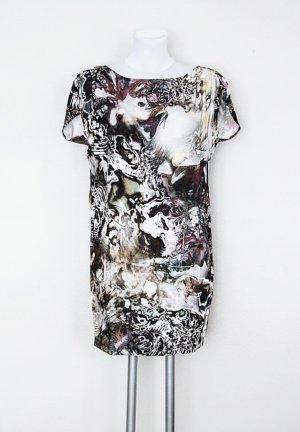 Zara Robe t-shirt multicolore