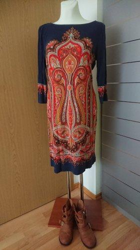 Shirtkleid Bodyflirt tolles Muster Gr 40 Jerseykleid lange Tunika