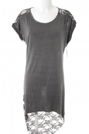 Shirtkleid dunkelgrau Casual-Look
