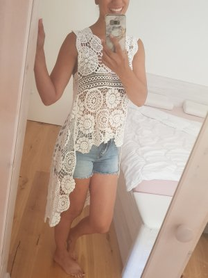 Made in Italy Beach Dress white