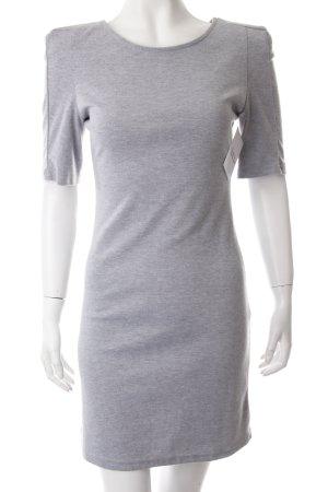 Shirtkleid grau