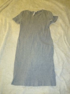 H&M Divided Robe t-shirt gris clair-gris