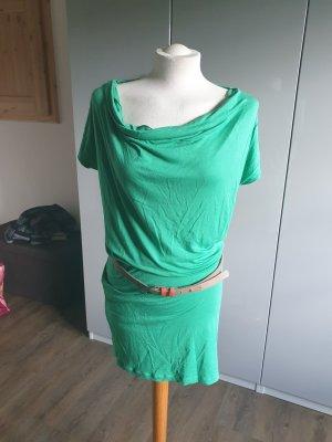 Shirtkleid grün