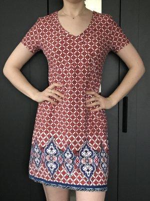 Shirtkleid in schönem Print