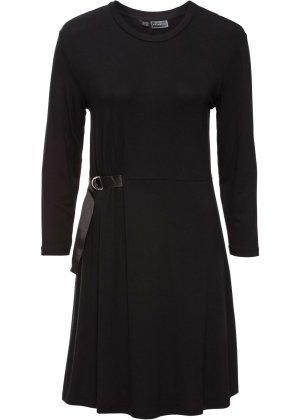 Rainbow T-shirt jurk zwart