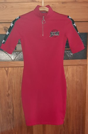 FB Sister Polo Dress red