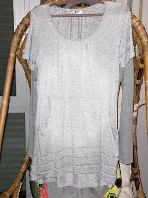 bpc selection Vestido estilo camisa gris claro
