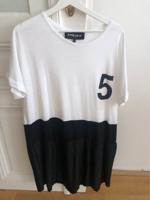 5 Preview Shirt Dress black-white