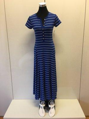 Ralph Lauren Letnia sukienka niebieski-w kolorze białej wełny
