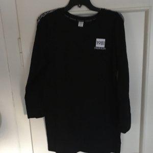 Calvin Klein Jeans Vestido estilo camisa negro-blanco Algodón