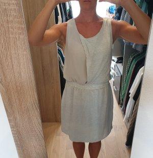 Selected Sukienka z krótkim rękawem jasnoszary-szary