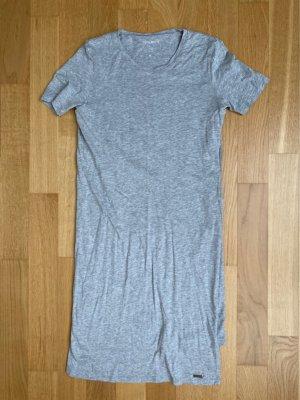 Woolrich Vestido estilo camisa gris claro