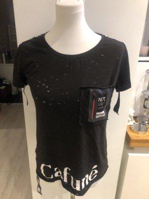 Koszula typu carmen czarny