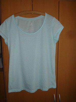 Basic T-shirt bleu clair-saumon
