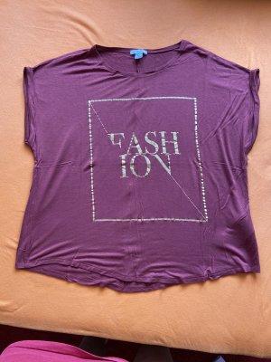 Amisu Print Shirt carmine