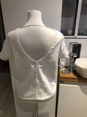 Koszulka typu batik biały-czarny