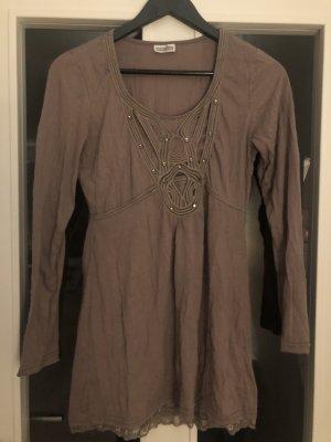 Street One Camicia a tunica marrone chiaro
