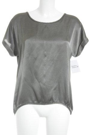 Shirttunika grau-taupe Casual-Look