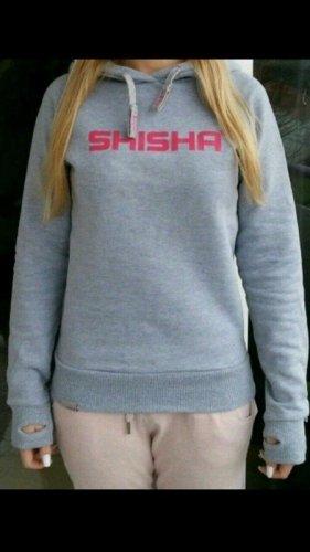 Shisha Brand Pullover Grey Handmade  SIZE: S