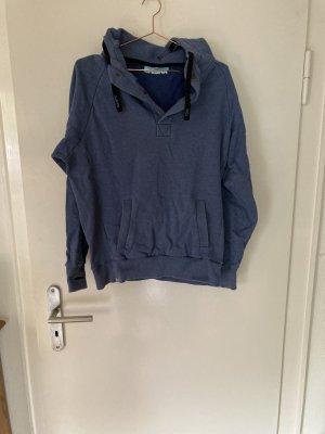 Shisha Hooded Sweatshirt steel blue