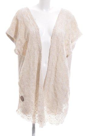 Shisha Long Jacket cream casual look