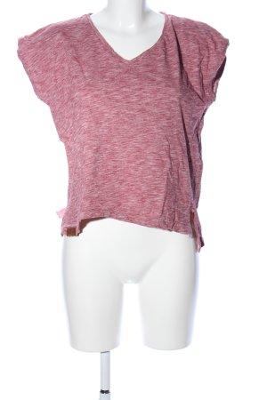 Shisha T-Shirt pink-weiß Allover-Druck Casual-Look