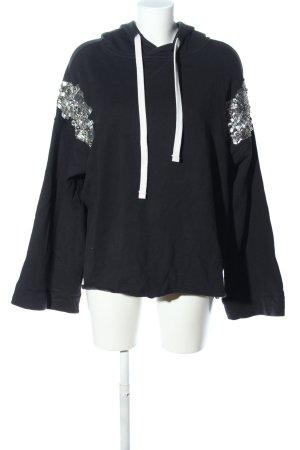 Shivadiva Kapuzensweatshirt schwarz Casual-Look