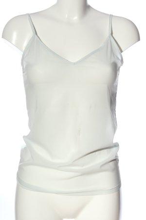 Shivadiva Top con bretelline bianco stile casual