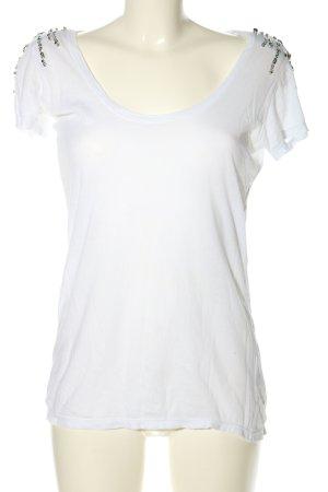 Shivadiva T-shirt bianco stile casual