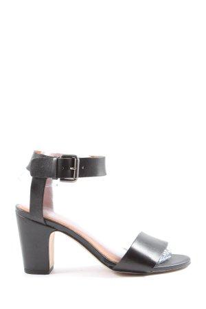 Shoe Biz Copenhagen High Heel Sandaletten schwarz Casual-Look