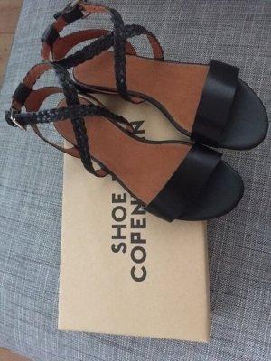 Shoe Biz Copenhagen Sandalen schwarz Leder neu!